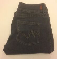 Mixit Women's Blue Jeans Size 8 Denim Pants Boot Cut Bootcut Stretch Bootleg