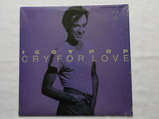 "Iggy POP Cry for love (ext.) + 2 - USA 12"" EP A&M SP-12203 (1986) NEW-SEALED!!!"