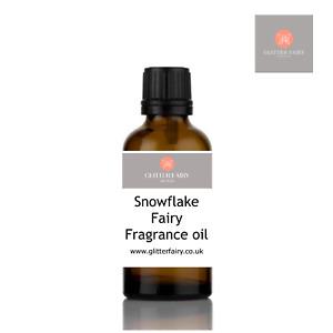 Snowflake Fairy Fragrance oil - Candle, Bath Bomb, Soap making, Wax Melts - UK