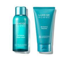 LANEIGE Homme Oil Control Water Lotion 150ml Oil Control Cleanser 150ml for Men