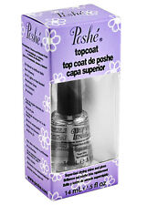 POSHE Topcoat Super-Fast Drying Shine and Gloss 0.5 fl oz