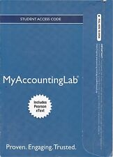 MyAccountingLab w/Pearson eText Horngren's Financial & Managerial Accounting