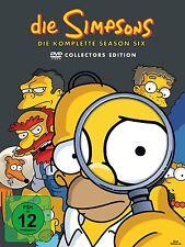 Die Simpsons  - 6 Season komplett - 4 DVD Box