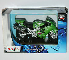 Maisto - KAWASAKI NINJA ZX-12R (Green) Motorbike - Model Scale 1:18