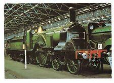 Great Northern Railway 4-2-2 Locomotive postcard