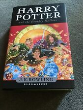 Harry Potter and the deathly hallows - JK Rowling livre en anglais