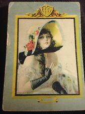 "Vintage Antique Gerlock Bartlett Co Pinup Print Card 2""X 3"" Lqqk!"