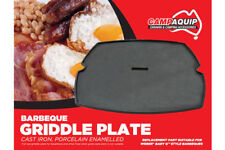 CAMPAQUIP FULL SIZE CAST IRON GRIDDLE PLATE for WEBER Q200 / Q2000 BBQ