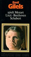 Emil Gilels Plays Beethoven Schubert Mozart Liszt Artist the World Do-Lp L5801