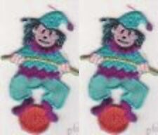 """2.75"""" Balancing Circus Clown embroidery patch"""