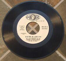 "Gospel 45 RPM By Rev. Billy Robinson, ""Keep Me (Lord)"" on Hob  Promo"