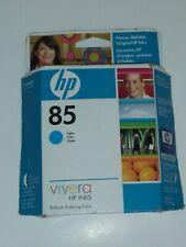 NEW HP 85 Cyan Ink Cartridge 28 ml for use in designjet 30, 90, 130