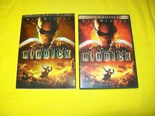 The Chronicles Of Riddick Dvd With Slipcover Unrated Director'S Cut Vin Diesel