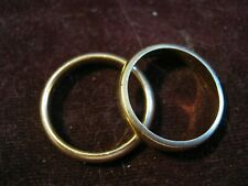 Artcarved W 14K Wedding Band Pair (Buy Separate or Together) Sz 6 1/2 & 7 3/4