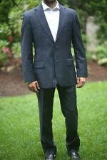 Hugo Boss Medium Navy Suit 36R Great Condition Recent