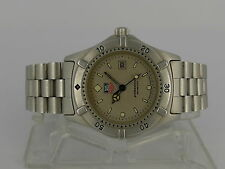 SWISS 30mm Tag Heuer Professional 200m quartz date SS bracelet women diver watch