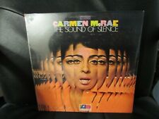 CARMEN McRAE - THE SOUND OF SILENCE ATLANTIC STEREO LP SEALED