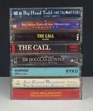 Lot 8 Rock Cassette Tapes-Big Head Todd/The Call/Morphine/Mellencamp/Sir Douglas