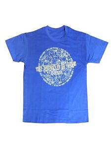 Diesel The World is Mine T Shirt Blue size XL Extra Large Men