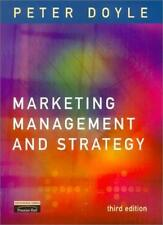 Marketing Management and Strategy,Mr Peter Doyle