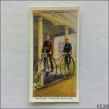 John Player Cycling #13 Rucker Tandem Bicycle 1939 Cigarette Card (CC32)