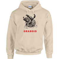 247 Graboid Hoodie 80s movie scary tremors funny cool horror halloween new