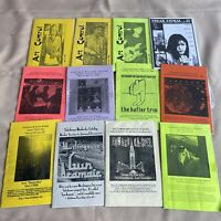 Vintage Underground, Industrial, Goth, Synth, Punk Music Mail Order Catalog Lot