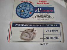 34030 FARO PROIETTORE (HEAD LAMP) SX H4 PRED.REG.ELETTRICA ATOS-ATOS PRIME 1998