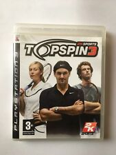 Top Spin 3 (Sony PlayStation 3, 2008)