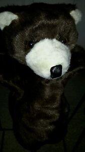 Boo Bear hand puppet