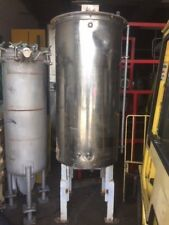 "TANK STAINLESS STEEL APPROX. 200 GALLON 64"" STRAIGHT SIDE 30"" DIAMETER"