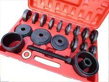Nuevo 23pc Cojinete De Rueda Delantera Kit de herramienta de eliminación de instalación Universal Prensa Tire