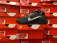 Nike Men's React Element 55 SE Sneakers-Black/Anthracite BV1507-002 DOUBLE BOXED