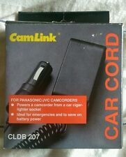 CLDB 207 CamLink Car Cord. Brand new - for Panasonic & JVC camcorders