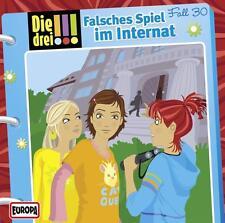 Die drei !!! 30. Falsches Spiel im Internat (drei Ausrufezeichen) (2014) CD