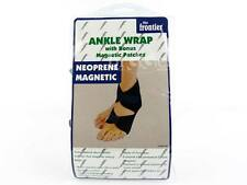 NEW Mens Ladies NEOPRENE Magnetic ANKLE SUPPORT with Patches Magnets Health