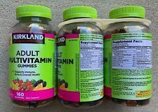 Kirkland Adult Multivitamin Chewable Gummies 480 Multi-Vitamins 3 Pack