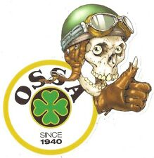 OSSA right Skull droit Sticker