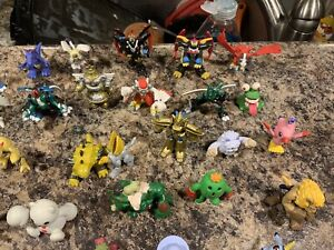 150 HUGE BANDAI DIGIMON Action Figure Lot Mini 2000, 2001, 1998 CHINA. RARE FIND