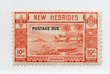 British New Hebrides - SG# D7 MLH      /       Lot 0720513