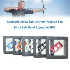 New listing Magnetic Arrow Rest Archery Recurve Bow Right Left Hand Adjusable SIUS YU