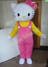 Hello Kitty Mascot Cartoon Fancy Theater Costumes Makeup Party Adult size 215