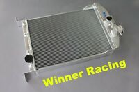 aluminum radiator fit Ford hot/street rod car truck/pickup 33-35 w/chevy 350 V8
