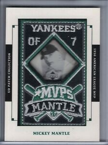 MICKEY MANTLE 2003 UD Patch Collection MVP #MVP-7  (G6036)