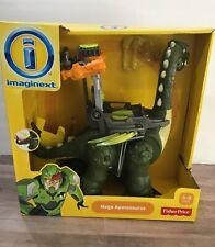 Fisher Price Imaginext Dinosaur Mega Apatosaurus Walking w/sounds Figure New