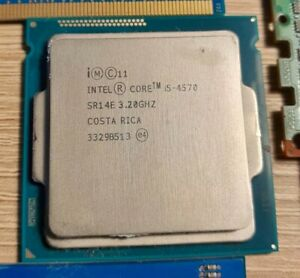 i5 4570 3.2Ghz (3.6Ghz Turbo) - LGA 1150