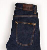 Nudie Jeans Damen Herren Unisex Düster Tim Slim Stretch Größe W28 L32 ATZ520