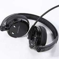 Over Head Noise Cancelling Wireless Bluetooth Stereo Boom Mic Headset Headphone