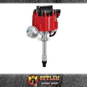 MSD DISTRIBUTOR HEI COIL STREET FIRE FOR CHEV V8 SMALL/BIG BLOCK RED - MSD8362