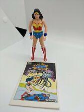 VINTAGE 1984 Super Powers Wonder Woman KENNER DC ACTION FIGURE Comic Excellent